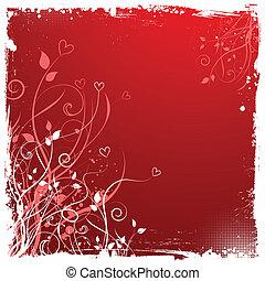 valentinkort, grunge, bakgrund