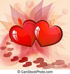 valentin`s, 日, カード