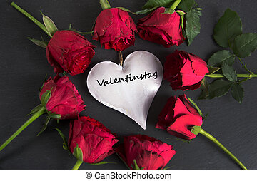 Valentinstag - the german word for Valentine´s day - nice...