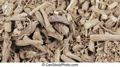 Bulk dried apothecary valerian gray