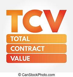 valeur, acronyme, tcv, -, contrat, total