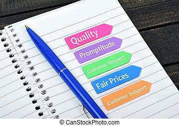 valeurs, flèches, business, collant