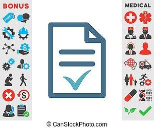 Valid Document Icon