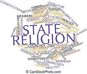 vallás, állam