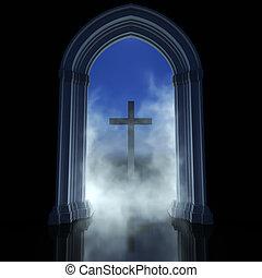 vallás, elvont
