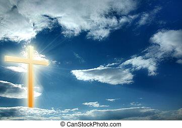 vallás, kereszt
