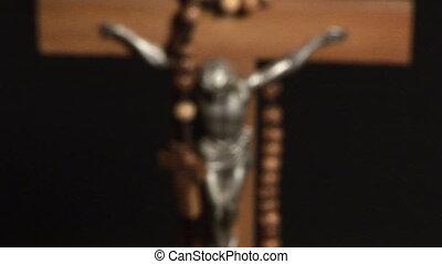vallásos, állandó footage