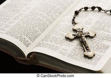 vallásos, mozdulatlan, life.