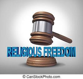 vallásos, szabadság