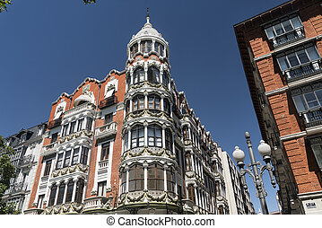 Valladolid (Castilla y Leon, Spain): buildings