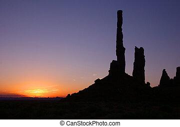 valle, -, alba, monumento