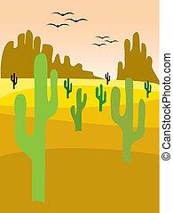 valle, cactus