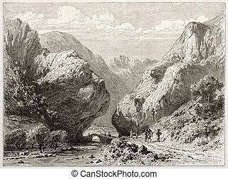valle, entrata, romeyer