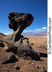 valle morte parco nazionale, california, pietra, formazioni