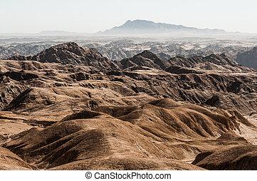 valle, río, namibia, swakop