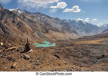 valle, tajikistan, arido