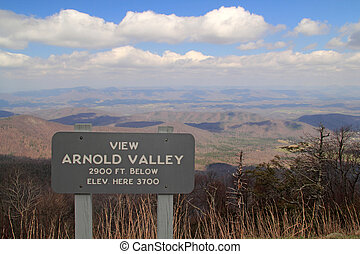 vallei, arnold, aanzicht