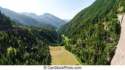 Dam of elder - Vallemaggia, Ticino, Switzerland: Dam of ...