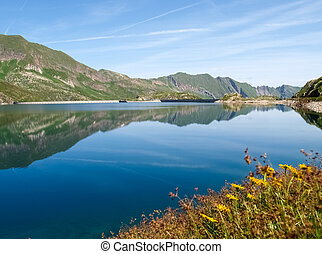 Val sambuco, lake of Naret