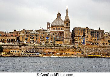 Valletta cityscape