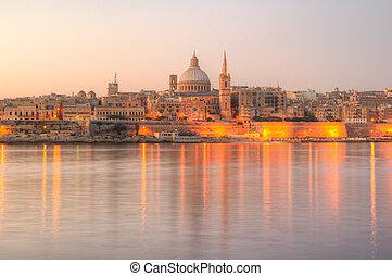 Valletta, Malta - Valletta, the Capital City of Malta in...