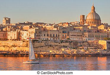 Valletta, Malta - Valletta, the Capital City of Malta in ...