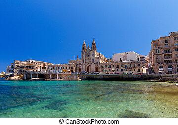 Valletta. Our Lady of Mount Carmel Church.