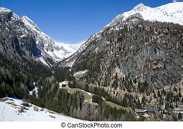Valley Dorfer, East Tyrol, Austria