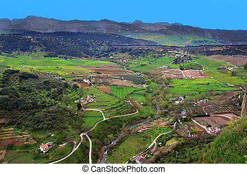 Valley in Ronda, Spain
