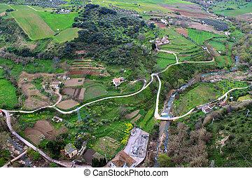 Valley in Ronda