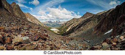 Valley in Tierra del Fuego, Argentina