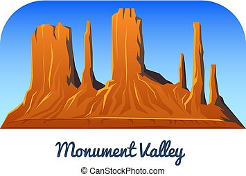valley., montagnes, extérieur, crêtes, camping, daylight., voyage, ou, tôt, mesa, climbing., colline, monument, tops., chasses, arizona., paysage, vue