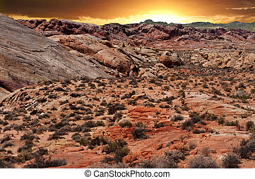 Valley of Fire National Park in Nevada