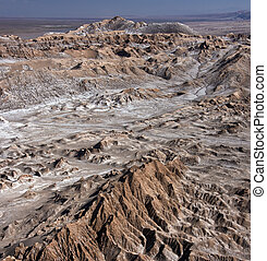 Valley of the Dead -  Atacama Desert - Chile