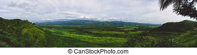 Valley of the Sugar Mills, Trinidad, Cuba or Valle de Los...