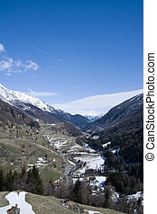 Valley Virgen, East Tyrol, Austria