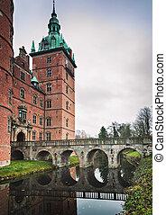 Vallo castle bridge Denmark