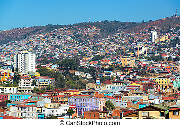 valparaiso, collines