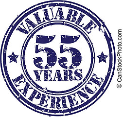 Valuable 55 years of experience rub