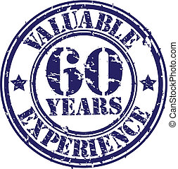 Valuable 60 years of experience rub