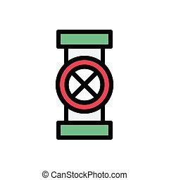 value flat color icon