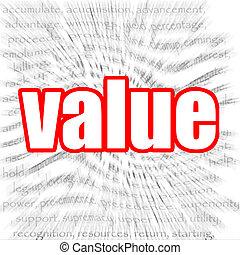 Value - Hi-res original 3d-rendered computer generated...