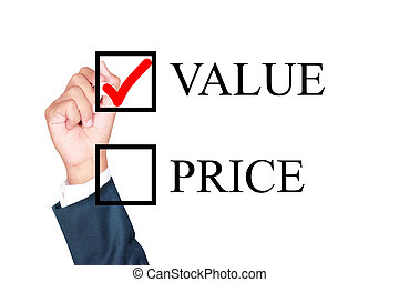 value is what i choose