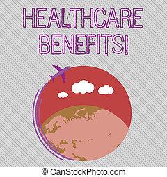 valueprovided, справедливая, фото, земной шар, знак, пустой, самолет, рынок, ежемесячно, летающий, текст, концептуальный, вокруг, красочный, показ, space., наемный рабочий, перемещение, значок, benefits., healthcare, dependents