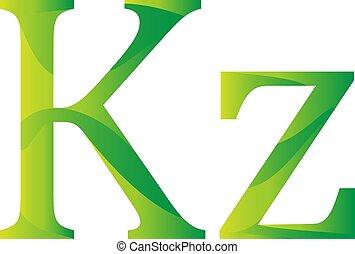 valuta, angolano, simbolo, kwanza, angola, icona