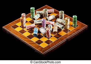 valuta, concetto, guerre
