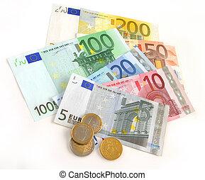 valuta, eurobiljet
