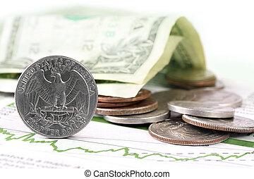 valuta, finanza, ci, grafico