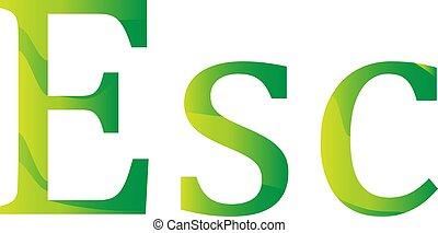 valuta, icona, simbolo, escudo, capo verde