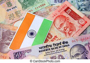 valuta, indiano